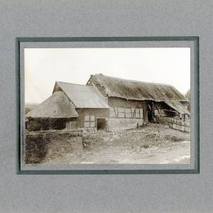 Aylton Court Farn, Tithe Barn, 1910