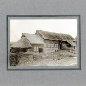 Aylton Court Farn, Tithe Barn, 1910