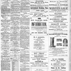 Ross Gazette - 1889