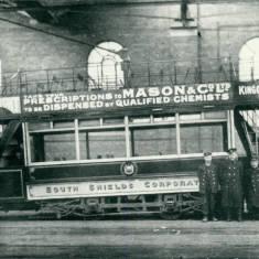 Tram in Depot