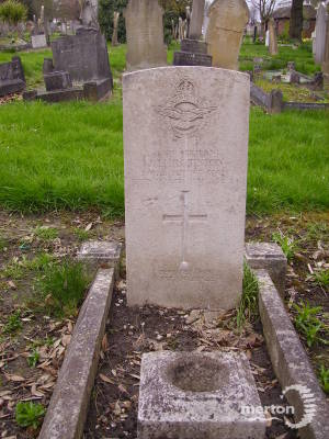 Gravestone of Francis W Prestwich