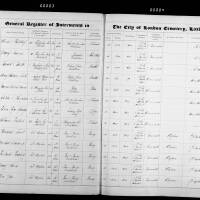 Burial Register 21 - March 1872 to August 1872