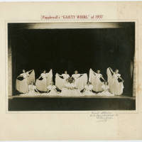 Photograph - Popplewell's Gaiety Whirl of 1937 - dancers on stage