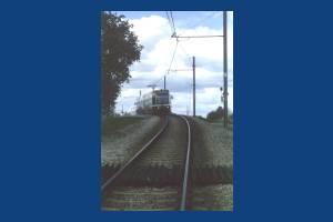 TFL tram  at Mitcham Junction
