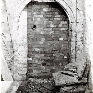 14th Century Doorway, High Street, Hereford, 1928