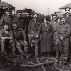 Bomb Disposal Squad at Bents allotments