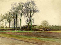 "William Sleath: ""Simpson's Gardens, Mitcham"""