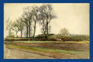 """William Sleath: """"Simpson's Gardens, Mitcham"""""""