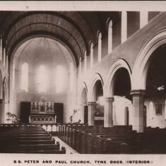 S S. Peter and Paul Church, Tyne Dock, South Shields (Interior)
