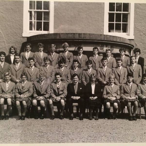 Loretto School Prefects 1987