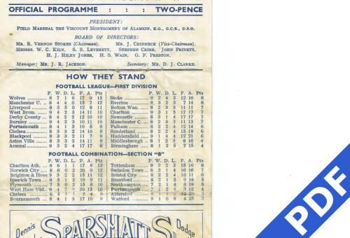 19490921 Danish National XI Friendly 1