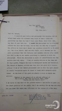 Letter - From Ivan A. Jacobs to Walter Dowson
