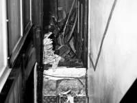 Pincott Road, Merton: Interior prior to Demolition