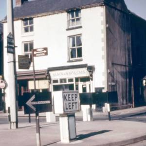 Commercial Square Hereford, 1972