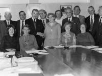 Members of the Parish Council in 1975