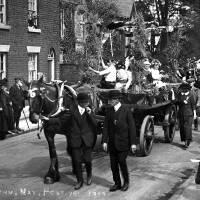 1913, Lymm May Queen
