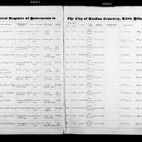 Burial Register 84 - April 1945 to March 1947