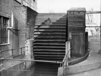 Water wheel at Fibre mills.