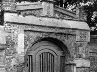 Old gateway leading to Abbey House