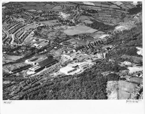 Aerial View of Thorncliffe Works 1962 (3)