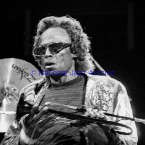 Miles Davis, 1989.