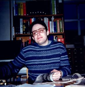 Library Staff, Nigel Prince, Reference librarian, Wimbledon Library