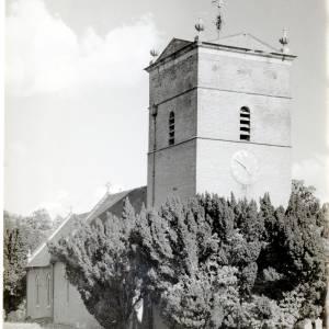 St Marys Church, Tyberton, exterior, 1949