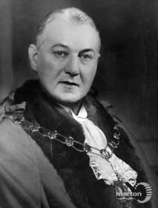 Alderman S L Gaston, Mayor 1937-38