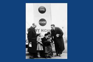 """Presentation of """"The Highway Code Story"""" from P. Scannell"""