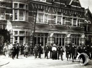 Wimbledon Fire Station, Queens Road: Official opening