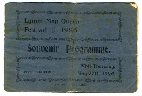 1926, Lymm May Queen Festival