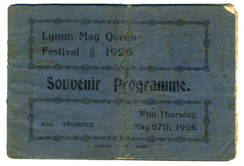 1926, Lymm May Queen Festival