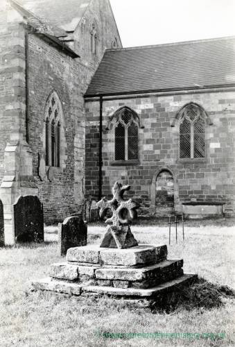 Bodenham Church, churchyard