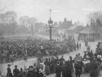 Unveiling of Mitcham clock tower by Salter Whiter J.P, Mitcham