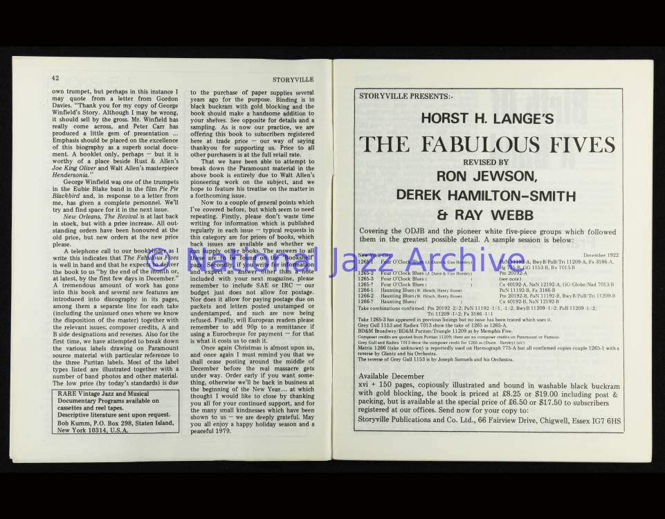 Storyville 080 0004 - National Jazz Archive