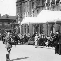Visit of King George VI and Queen Elizabeth, Bootle Town Hall, May 1938