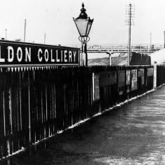 Boldon Colliery Railway Station.