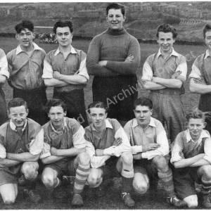 Grenoside Boys Football Team c1950