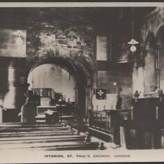 Interior St Paul's Church, Jarrow