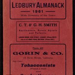 Tilley's Ledbury Almanack 1961