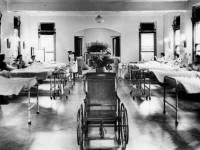 Maternity ward, Nelson Hospital, Merton Park
