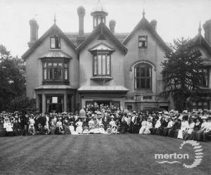 Canon Wilson's Jubilee celebrations, Hall Place, Mitcham
