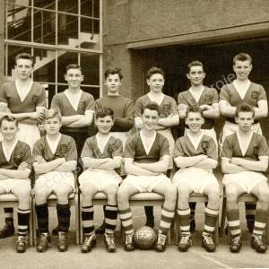 Ecclesfield Secondary School  Football Team 1958