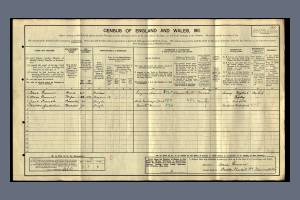 1911 Census - Oakley, Thorkhill Road, Thames Ditton