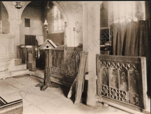 Church of St. Pancras, c1930, Widecombe