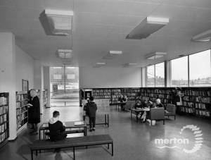 Mitcham Library: new extension