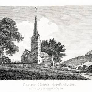 Goodrich Church, Herefordshire, 1782