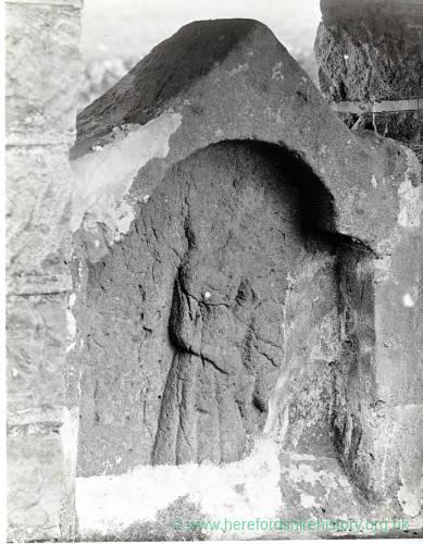 Tedstone Delamere, Cross Head, 14th Century