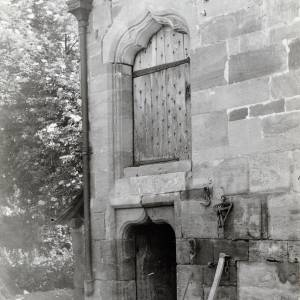 Brinsop Court, door to the Great Hall