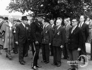 Inspection of Home Guard, Mitcham